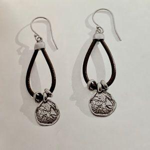 Silpada earrings (pre-owned)